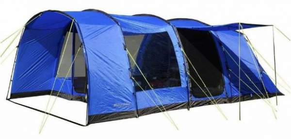 Eurohike Hampton 6 man family tent.