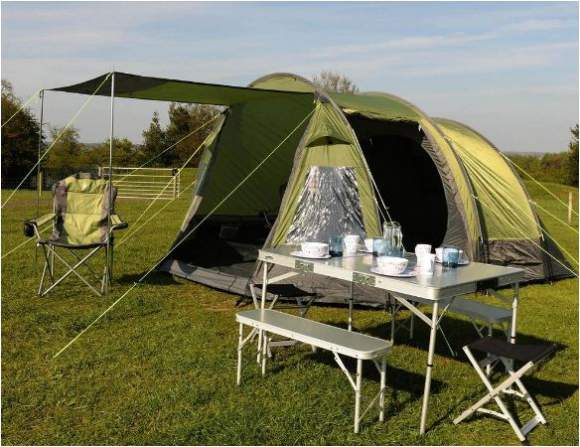 The Rydal 500 in the awning configuration.