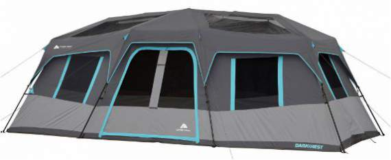 Ozark Trail 20' x 10' Dark Rest Instant Cabin Tent.