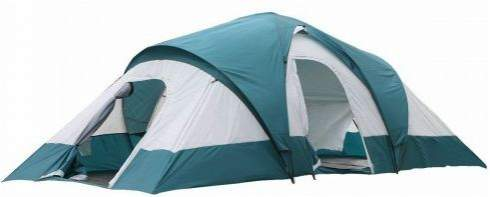 Semoo Water Resistant 9-Person 3-Room Family Tent.