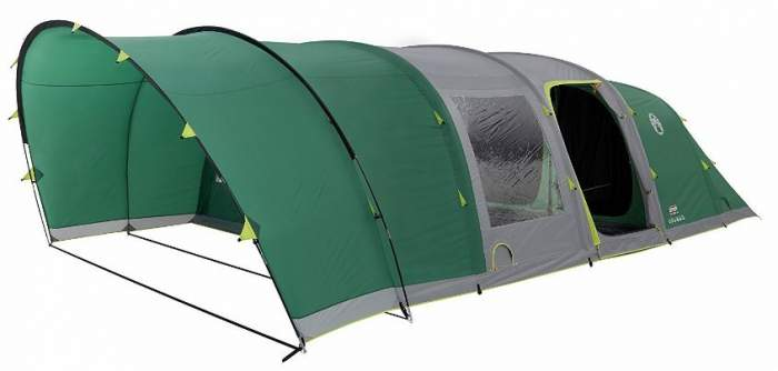 Coleman 6 Man Fastpitch Air Valdes Tent XL.