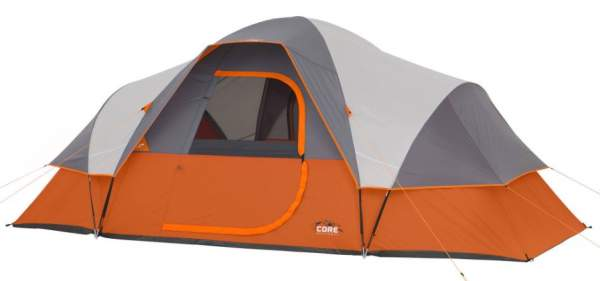 Core 9 Person Extended Dome Tent.