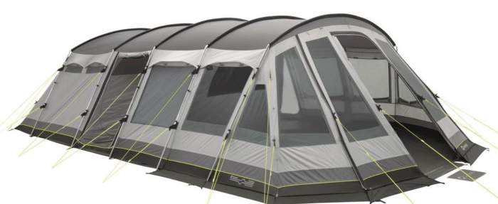 Outwell Vermont XLP Premium 7 Person Tent.
