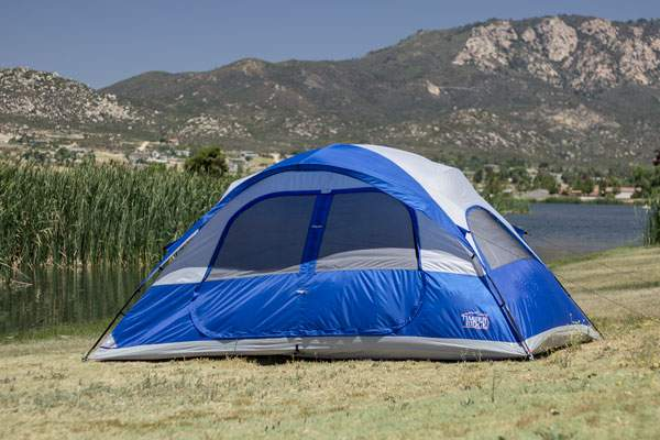 Timber Ridge 8 Person Dome Tent.
