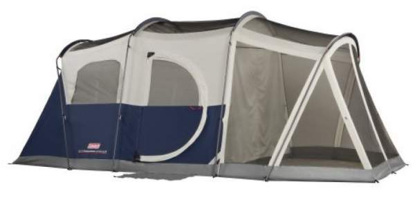 Coleman Elite WeatherMaster 6 tent without the fly.