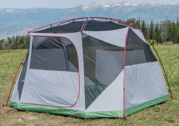 This is the tent shown without fly.