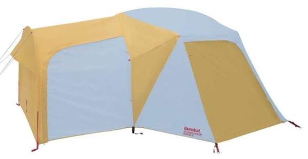 The Boondocker 6 tent with closed vestibules.