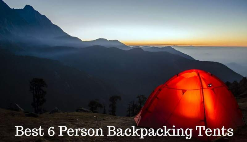 Best 6 Person Backpacking Tent