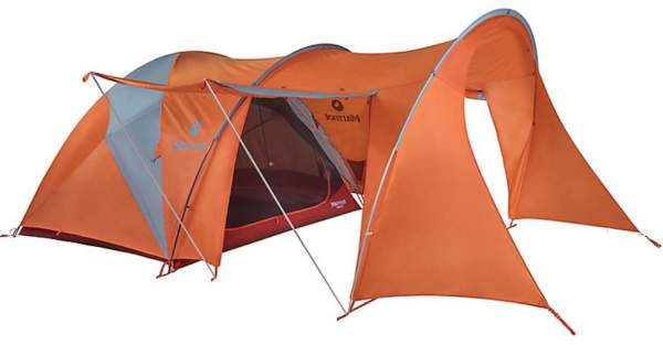 Marmot Orbit 6P Tent - 3 entry doors.
