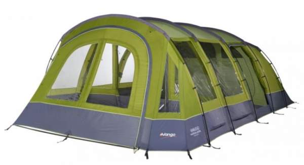 Vango MARNA 600 XL Tent - front view with the closed porch.