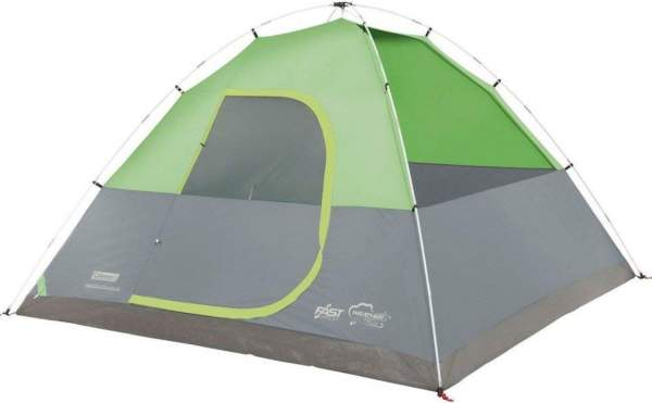 The tent shown without the fly.