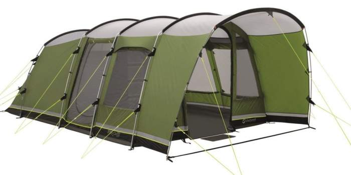 Outwell Flagstaff 5 Person Deluxe Tent.