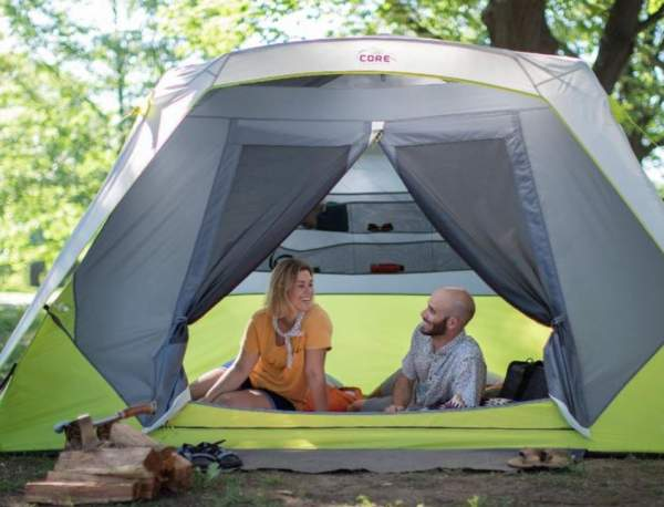 This tent is very suitable for couples.