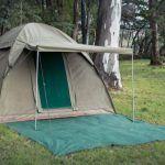 Alpha-Kilo-4000-Canvas-6-Person-Bow-Tent-in-nature