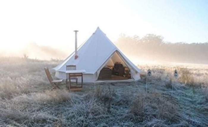 DANCHEL Cotton Bell Tent with Two Stove Jacket.