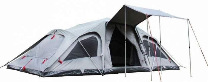 Jet Tent F25DX 10 Person Camping Tent.