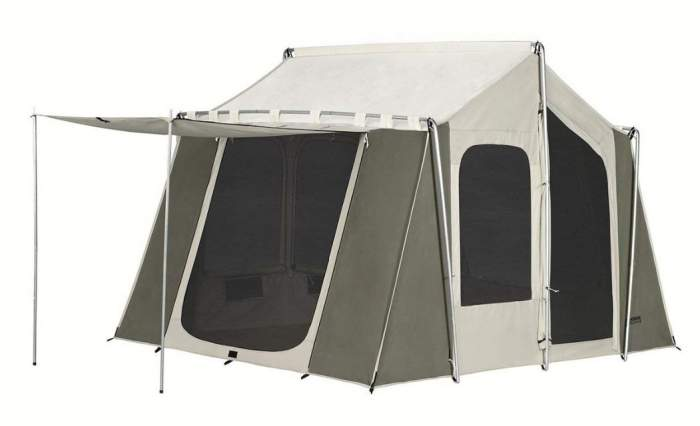 Kodiak Canvas 12x9 Canvas Cabin Tent.
