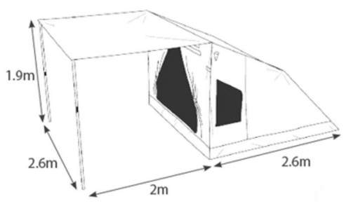 sc 1 st  Family C& Tents & Oztent-30-Second-Expedition-Tent-For-5-People-dimensions