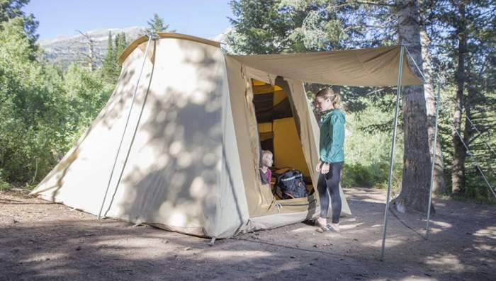 Teton Sports Mesa 14 Canvas Tent.