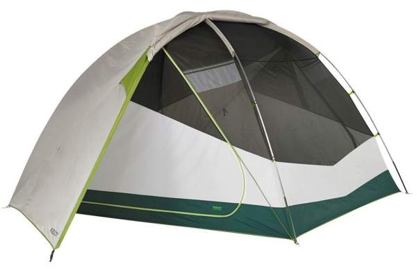 A true 3-season tent - Kelty Trail Ridge 8 Tent.