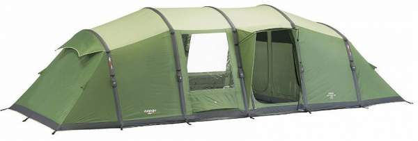 A hybrid double & single layer tent - Vango Odyssey Air 8 Person Tent.