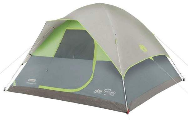 A true freestanding tent - Coleman Namakan Fast-Pitch Dome Tent 5 Person.