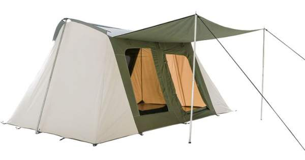 White Duck Outdoors Family Explorer Basic 10 x 14 Canvas Camping Tent.