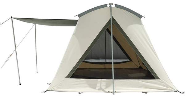 19 Best Canvas Tents For Camping in 2019 - For All Seasons