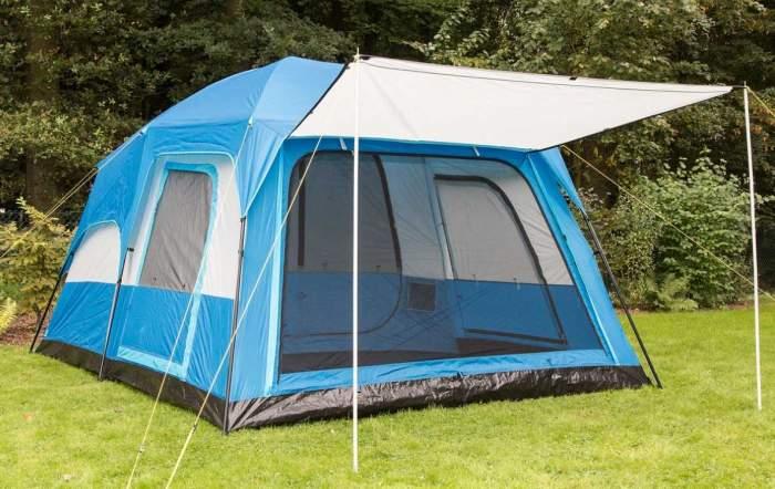 Skandika Weatherproof Tonsberg Unisex Outdoor Dome Tent.