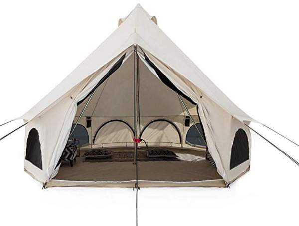 White Duck Outdoors Avalon Canvas Bell Tent.