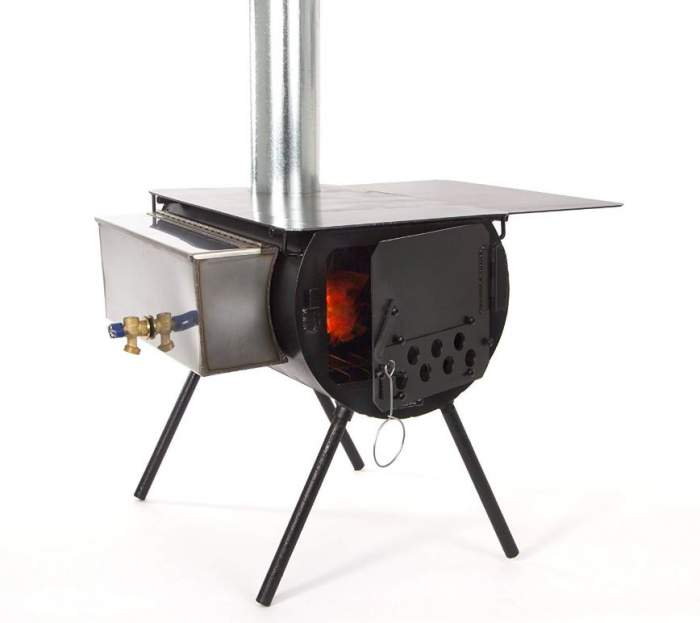 Timberline Wood Stove Package.