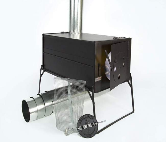 Uncompahgre Collapsible Pack Stove.