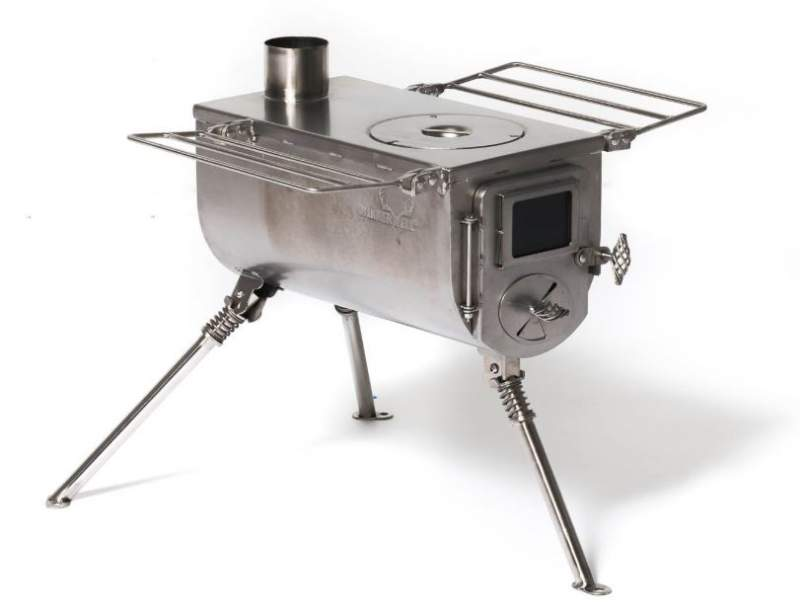 Winnerwell Woodlander Medium Tent Stove.