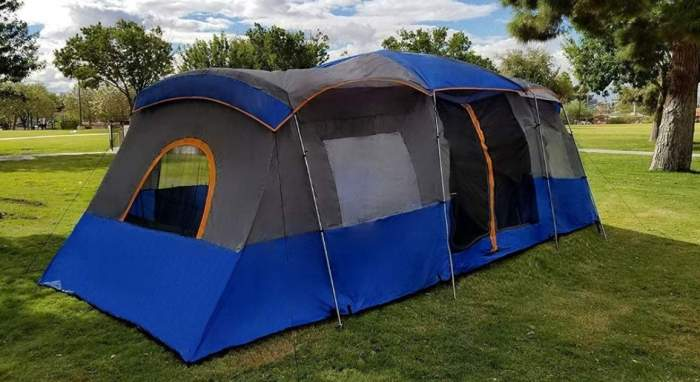 Americ Empire Cabin Instant Tent with 3 Room.