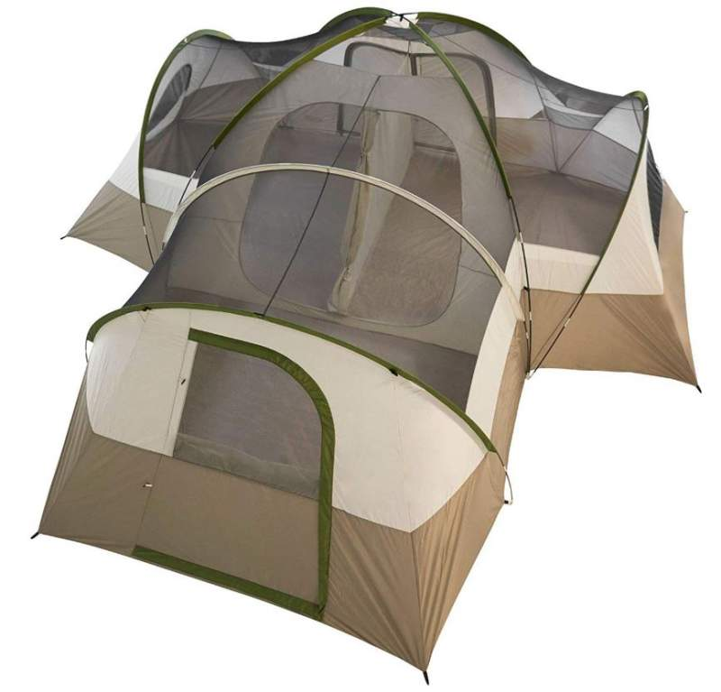Wenzel Mammoth 16-Person Family Dome Camping Tent.