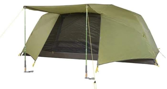 Slumberjack Roughhouse 6 Person Tent.