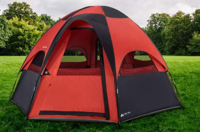 Ozark Trail 8-Person Dome Tent.