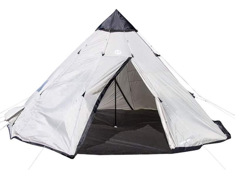 Tahoe Gear Bighorn XL 12-Person Teepee Tent.