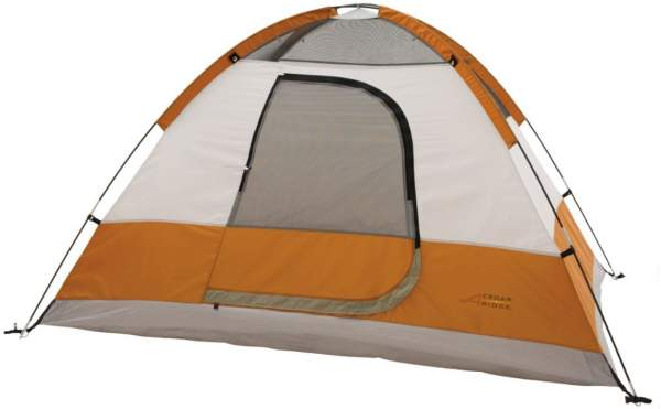The Cedar Ridge 6 tent shown without the fly.