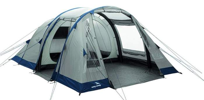 Easy Camp Tempest 500 Inflatable Tunnel Tent.