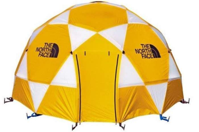 The North Face 2-Meter Dome - 8 Person Tent with fly.