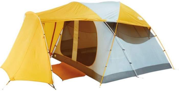 The North Face Kaiju 6 with open porch,