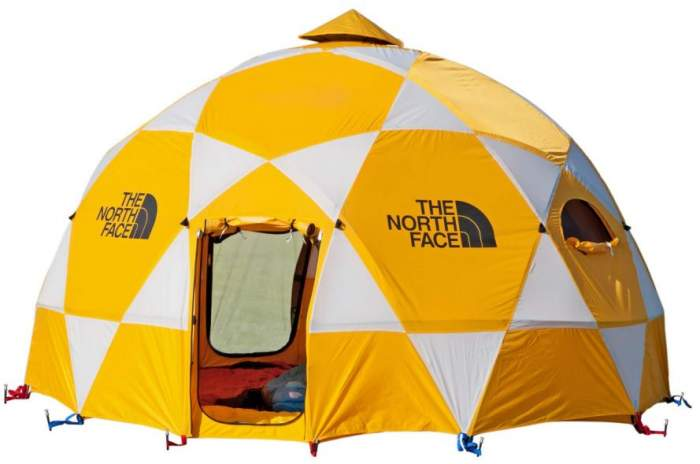 The North Face 2-Meter Dome tent 8.
