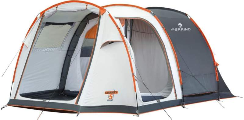 Ferrino Chanty 5 Deluxe Family Tent.