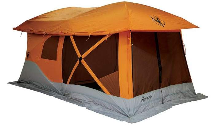 Gazelle T4 Plus Hub Tent with Screen Room.