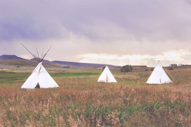 Teepee Zipperless Tents.