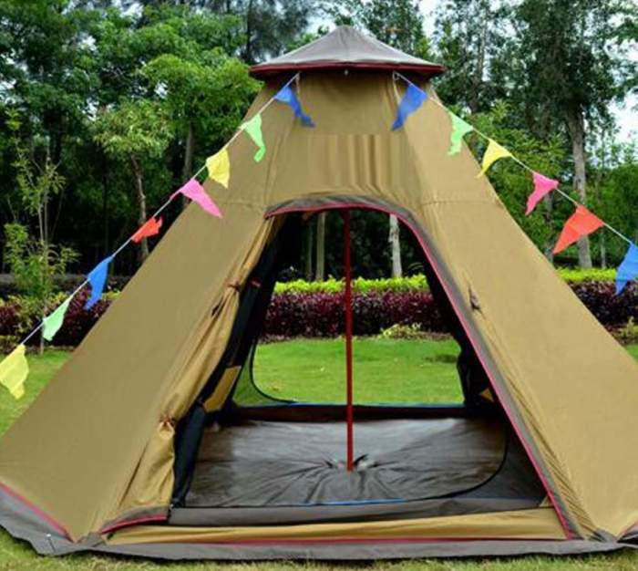 Zimo 5-6 Person Teepee Tent.