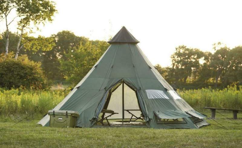 Guide Gear Teepee Tent 18 x 18.