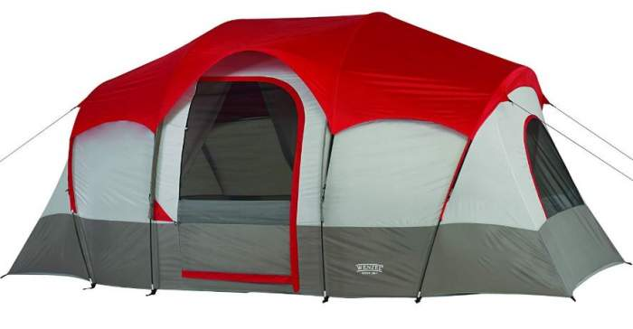 Wenzel Blue Ridge 7 person 2 room tent.