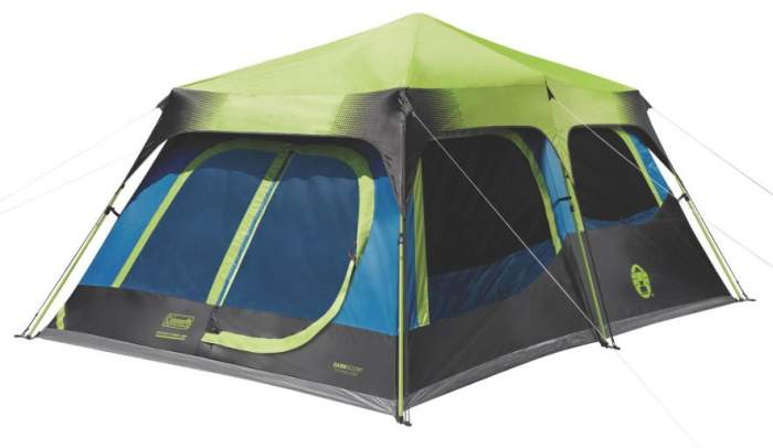 Coleman Instant Cabin 10 Person Tent